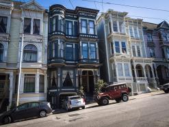 San Francisco Nette Menschen und ein Fast-Raub