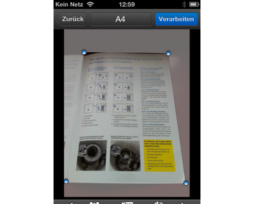 Scanner Pro (iPhone App)