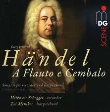 Händel-Sonate im Studio
