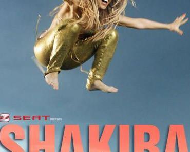 Shakira tourt in Europa mit Seat