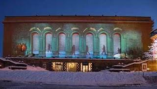 Der Weihnachtsfilm am Kunstmuseum in Göteborg