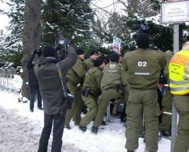PM: Brutaler Polizeieinsatz gegen Menschenrechtler vor der iranischen Botschaft