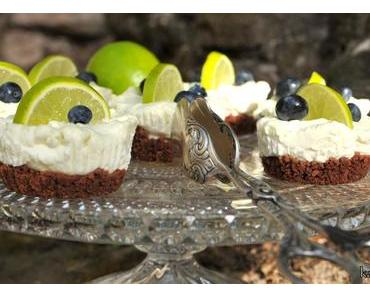 Mini Lime Cheesecakes – ohne Backen