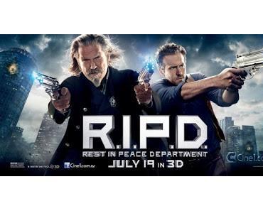 R.I.P.D. Das Rest in Peace Department hat 2 schicke neue Banner bekommen