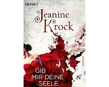 "Mini-Rezension/""Gib mir deine Seele"" von Jeanine Krock Heyne Verlag"