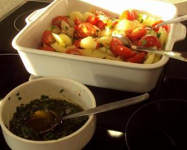Ein fruchtiger Tomatensalat aus der Provence + warum Cavaillon die Melonenhauptstadt ist