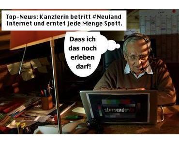 Internet: Neuland für Merkel