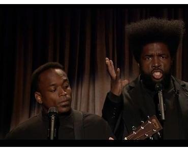"Black Simon & Garfunkel covern Daft Punk's ""Get Lucky"" live bei Jimmy Fallon (Video)"