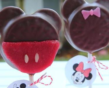 Hello Melanie! »Mickey Mouse & Mini Mouse Oreo Pops«
