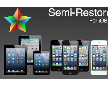 [Tutorial] iOS-Gerät mit Jailbreak wiederherstellen und Cydia behalten (SemiRestore)