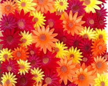 Blütentorte