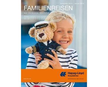 Pressemeldung: Neue Familienreisen mit MS EUROPA und MS EUROPA 2