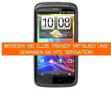 Club-Trendy Verlosung Juli 2013: HTC Sensation