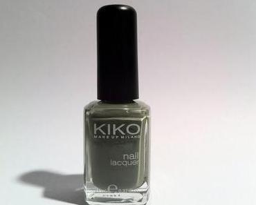 [Lacke in Farbe ... und bunt!] Kiko Nail Lacquer Nr. 348 Camouflage Green