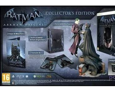 Batman Arkham Origins: Inhalt der Collector's Edition enthüllt