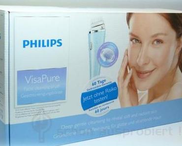 Meine Erfahrung mit der PHILIPS VisaPure Gesichtsreinigungsbürste