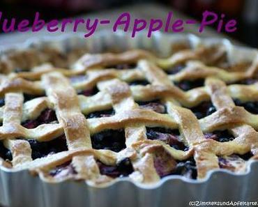 Blueberry-Apple-Pie nach Cynthia Barcomi