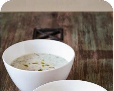 Kalte Gurken-Joghurt-Suppe
