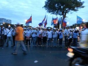 Vor den Wahlen in Kambodscha
