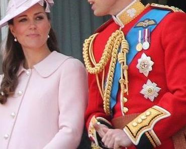 Herzogin Catherine von Cambridge liegt in den Wehen