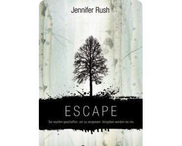 [Rezension] Escape von Jennifer Rush (Altered #1)