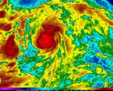 Tropischer Sturm Mangkhut zieht nach Nord-Vietnam