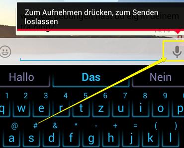 WhatsApp realisiert Sprachnachrichten