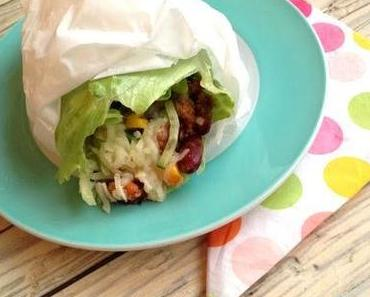 dinner-dienstag // low carb burrito