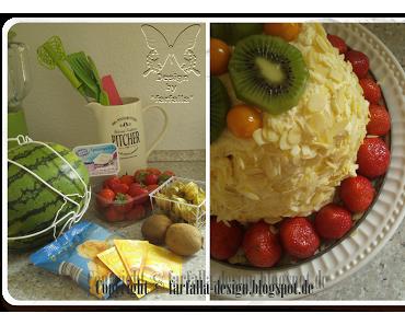 In den Topf geschaut * Der etwas andere Obst-Salat / Melonen-Torte