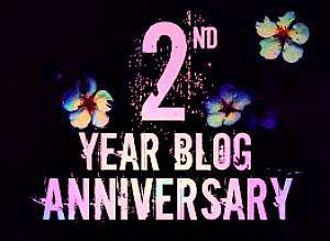 ♥2 Blog Geburtstag♥ (+Gewinnspiel)