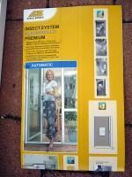 Insektenschutz-Klemmrollo für Terrassentüren