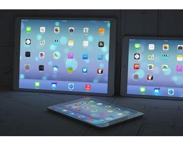[Konzept] 12,9-Zoll iPad im Vergleich mit iPads und Mac
