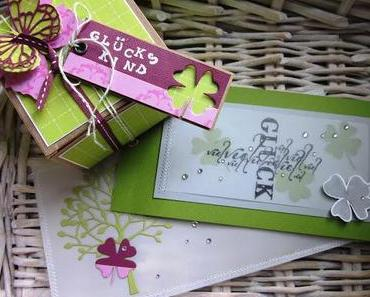 Glück in Pink & Grün