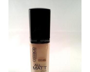 [Beauty] Catrice All Matt Plus Shine Control Make Up
