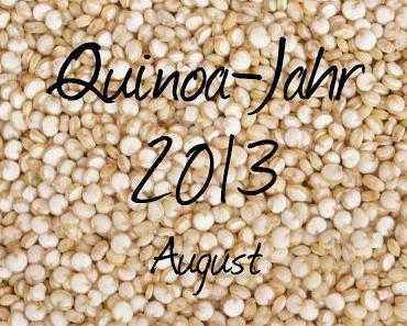 Mein Quinoa-Jahr 2013: August-Rezept