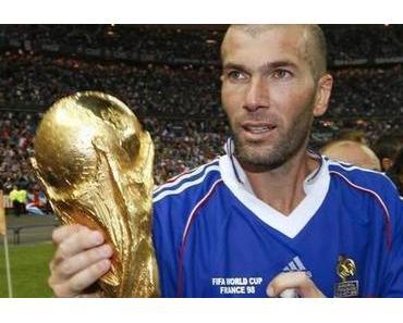 12. Juli 1998: Zinedine Zidane und Frankreich werden Fußballweltmeister