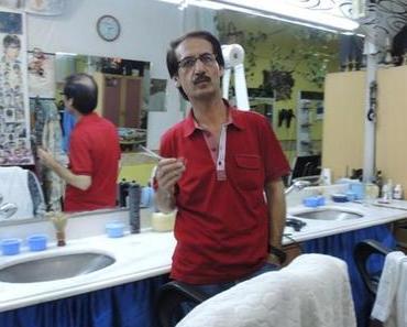 Beim Kuafför in Istanbul