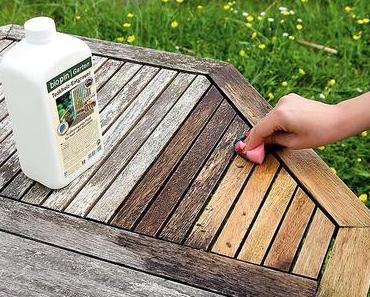 Holz im Garten richtig pflegen