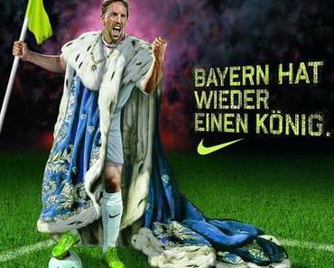 29. Aug. 2013: Franck Ribéry ist Europas Fußballer des Jahres