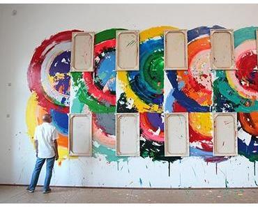 Artists on the Blog: Richard Jacksons Wall Paintings