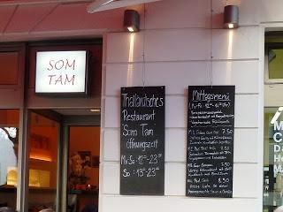 Absolut lecker / Absolutely Yummy: Thai Restaurant Som Tam in Berlin