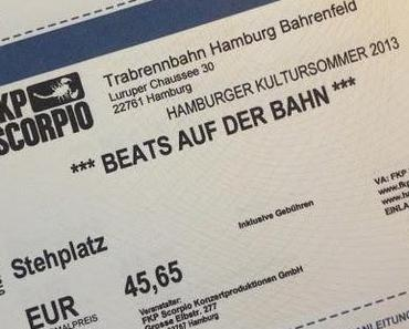 Beats auf der Bahn