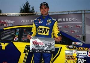 Ricky Stenhouse Jr. auf der Pole in Atlanta