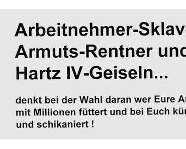 Wahl 2013-So belügt SCHWARZ/GELB das Volk