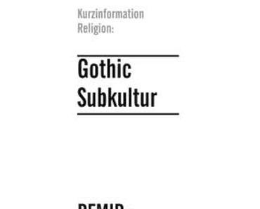 Gothic als eine vielseitige Subkultur