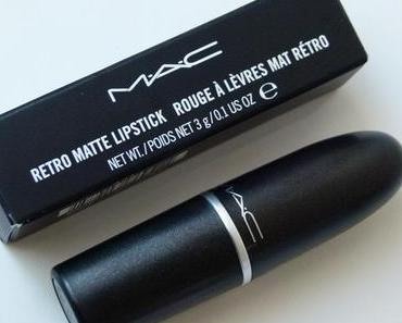MAC Retro Matte Lippenstift – Relentlessly Red – Fall 2013 Collection