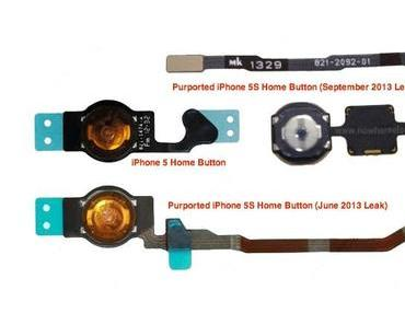 iPhone 5S: Fotos zeigen Home-Button (Flex) und Fingerabdrucksensor