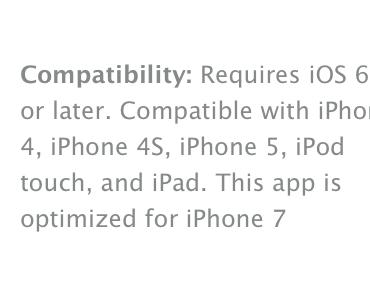 Update: Kommt doch das iPhone 6 und nicht iPhone 5S? Apple App Store gibt Hinweise