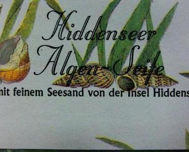 Hiddenseer Algenseife – Handgemachte, kaltgerührte Pflanzenölseife von 1000&1 Seife