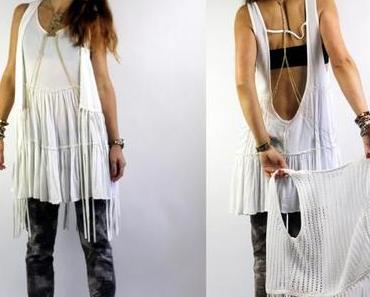 STYLE: Bodychain & backless dress